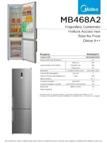 thumbnail of Scheda Tecnica Midea MB468A2