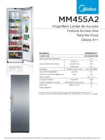 thumbnail of Scheda Tecnica Midea MM455A2