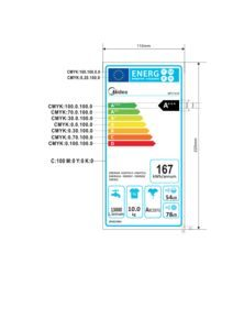 thumbnail of Energy Label – Midea MFC1016