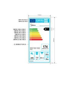 thumbnail of Energy Label – Midea MFC714