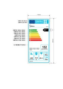 thumbnail of Energy Label – Midea MFC914