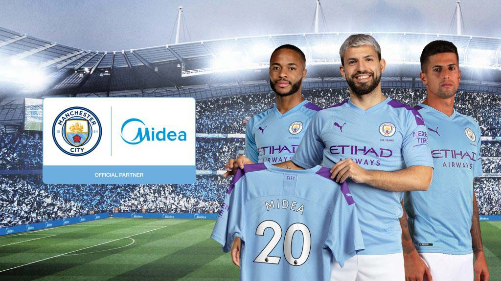 Midea official partner del Manchestern City