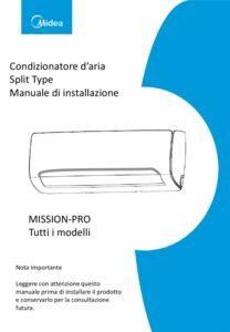 thumbnail of Manuale Installazione MISSION-PRO Midea ITA