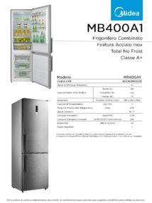 thumbnail of Scheda Tecnica Midea MB400A1