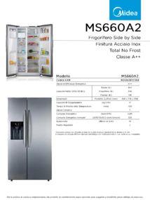 thumbnail of Scheda Tecnica Midea MS660A2